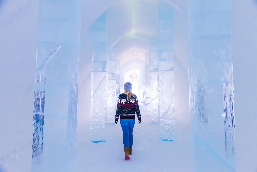 kiruna icehotel swedish lapland sweden