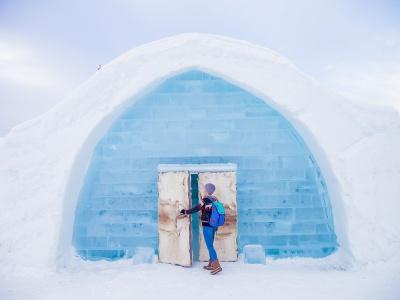 icehotel kiruna abisko lapland