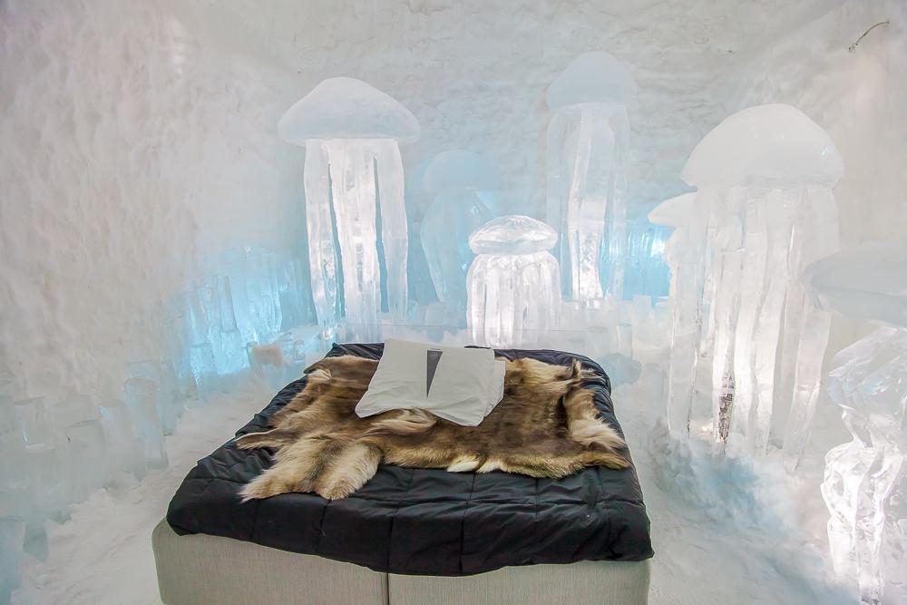 365 day ice hotel kiruna sweden lapland