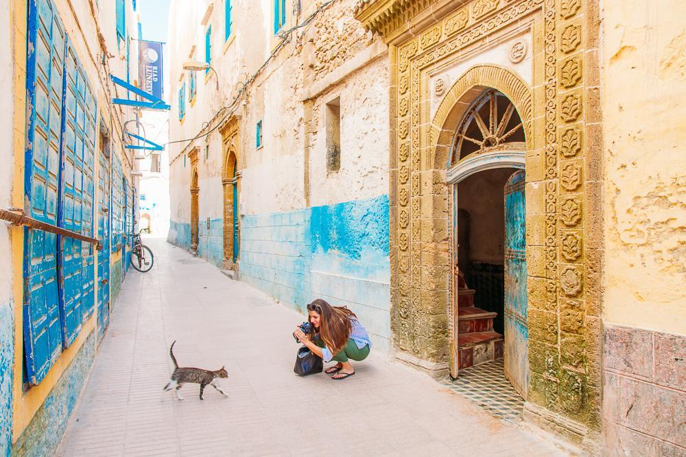essaouira medina downtown morocco architecture