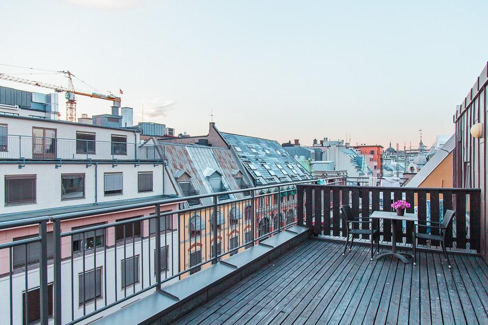 first hotel millennium oslo balcony