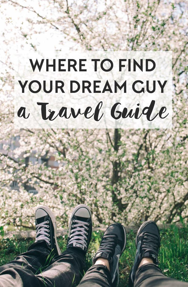 Not sure where to plan your next trip to? Here's our guide for choosing your next travel destination based on what sort of handsome traveler you might meet while on the road!