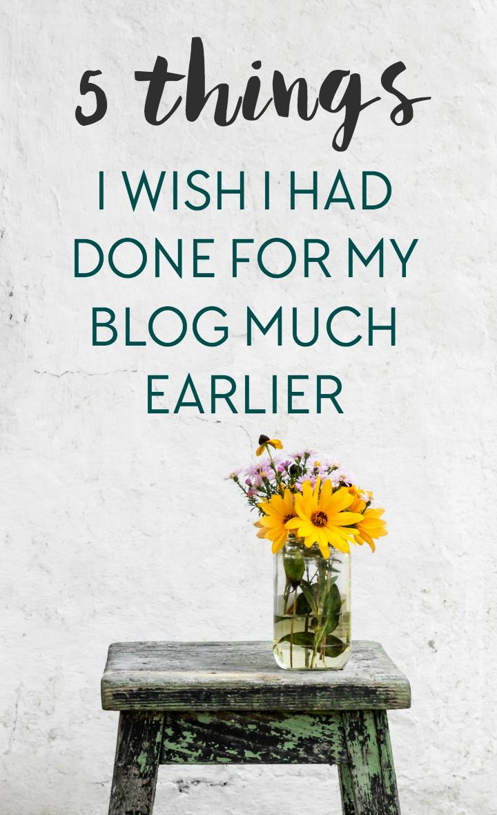 As a full-time travel blogger who's been blogging for over three years, there are a lot of things I wish I had started doing for my blog way earlier - follow these tips and don't make my mistakes!