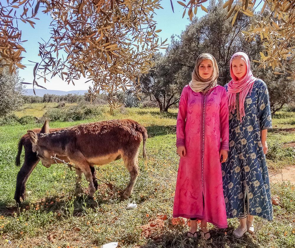 village life morocco