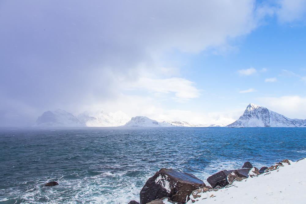 weather lofoten march winter norway