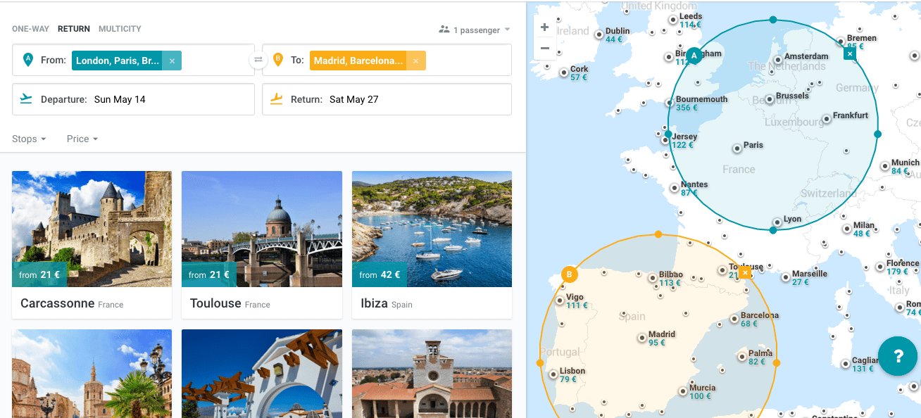 how to find cheap flights on kiwi.com