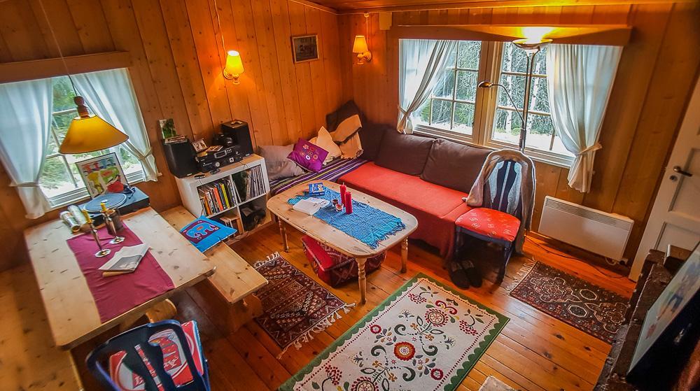 norwegian cabin interior