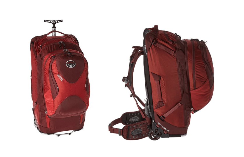 Best Wheeled Backpack For Travel Osprey Ozone Convertible