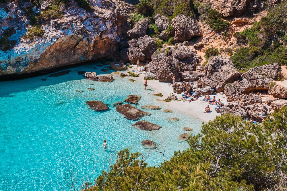 Es Calo des Moro Beach, South Mallorca photo