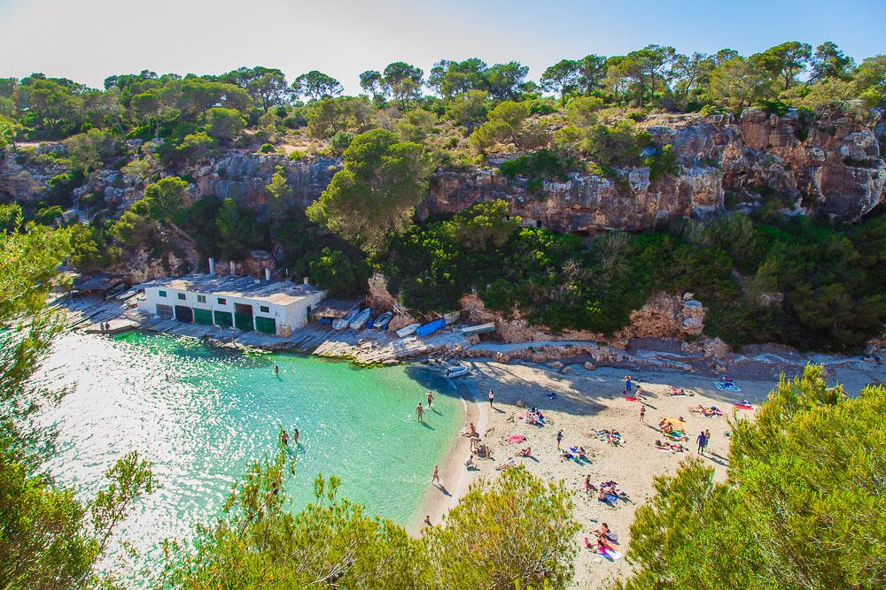 cala pi beach best beaches mallorca