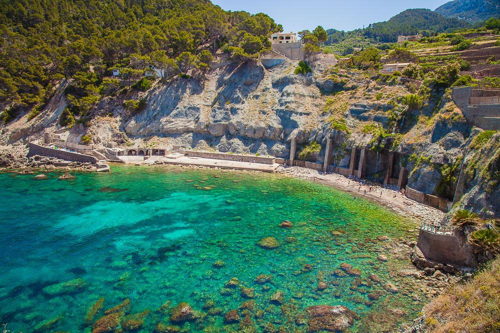 cala banyalbufar best beaches mallorca