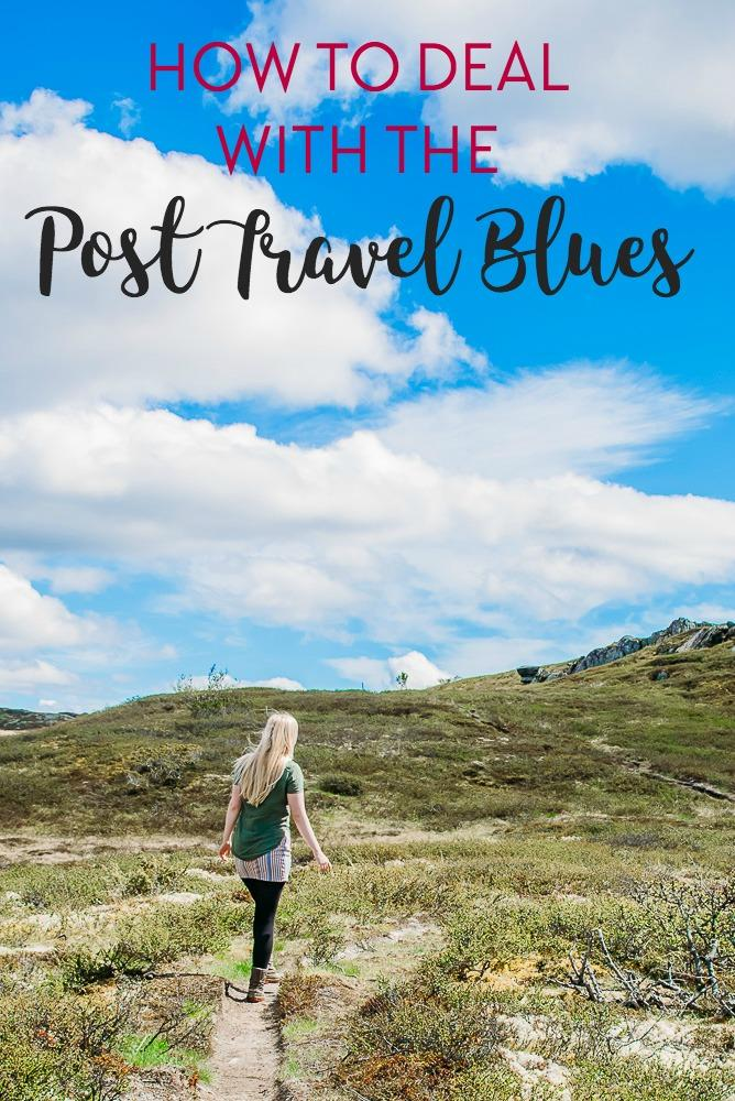 Returning home from travel can sometimes be difficult. Here's what I do to deal with post travel depression and blues when I come home after a trip