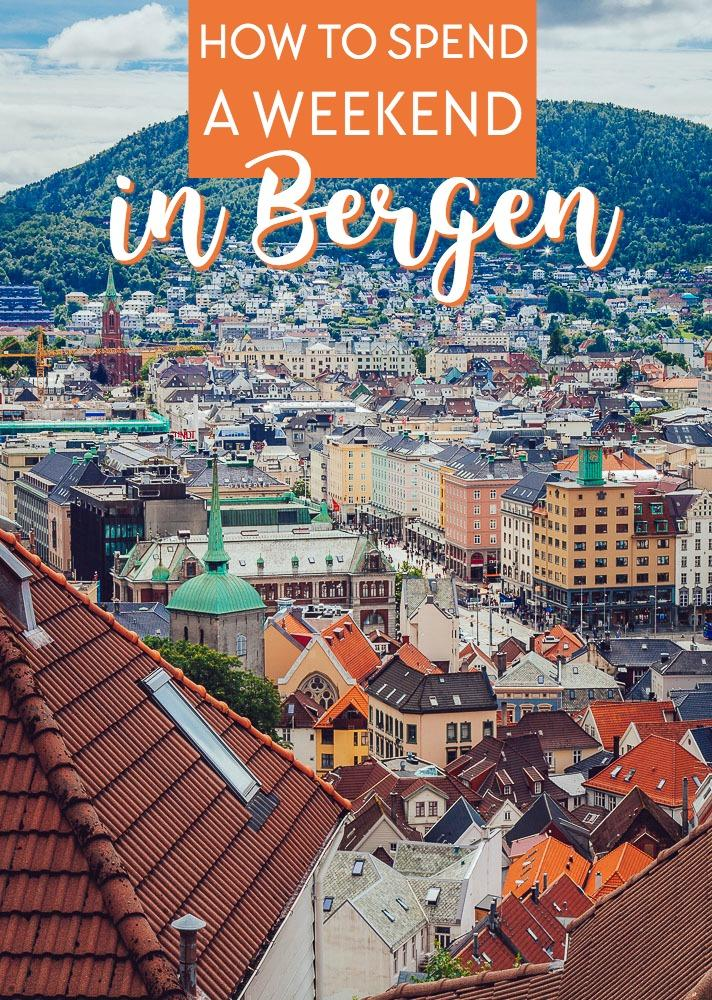 Bergen is my favorite city in Norway, and one of the best places to see both Norwegian cities and Norway's beautiful mountains, fjords, and seaside. Here's what you need to know about spending the perfect weekend in Bergen, Norway.