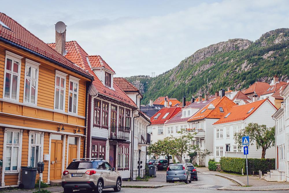 pretty neighborhood nice views bergen norway