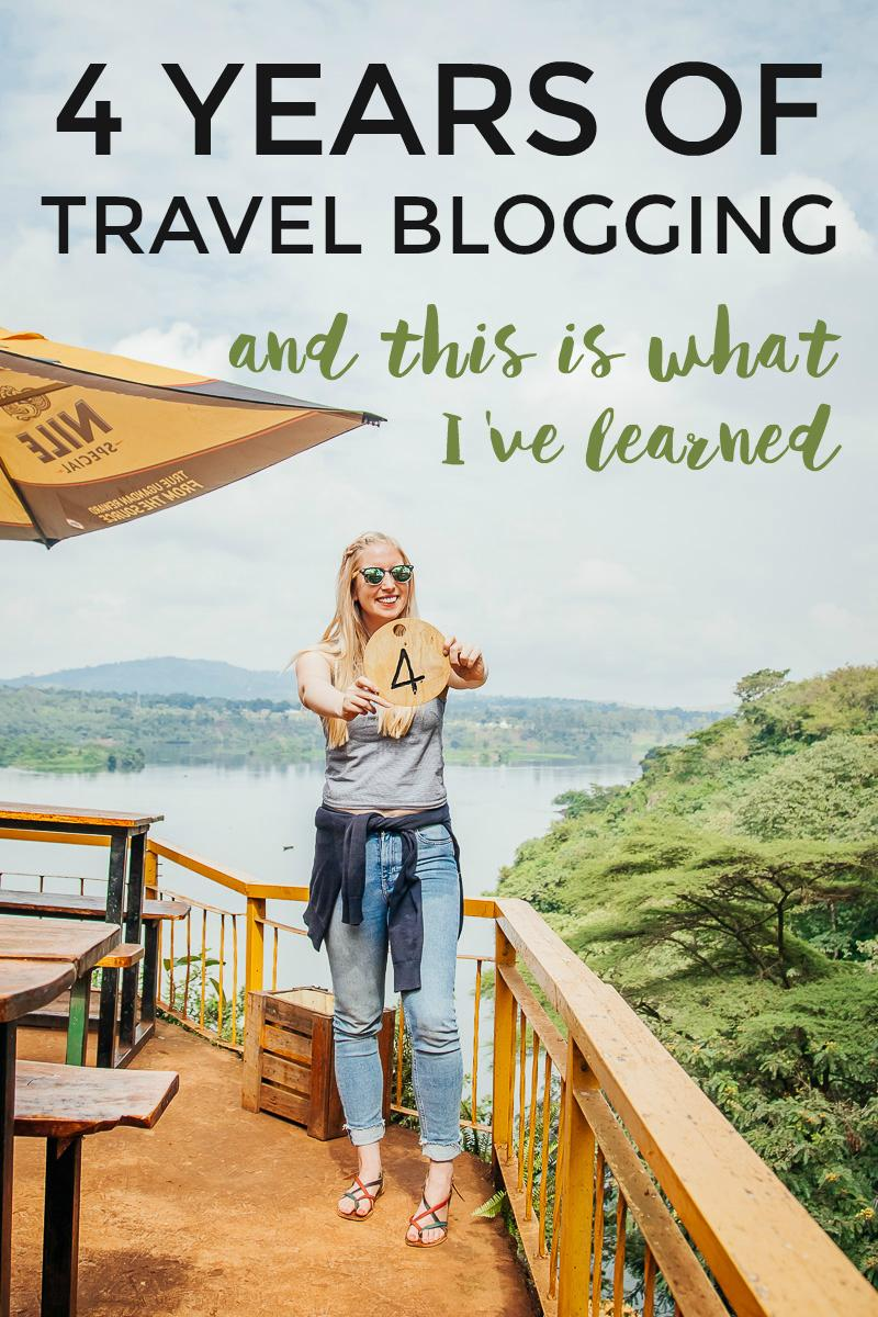 After four years of traveling blogging, this is what I now know