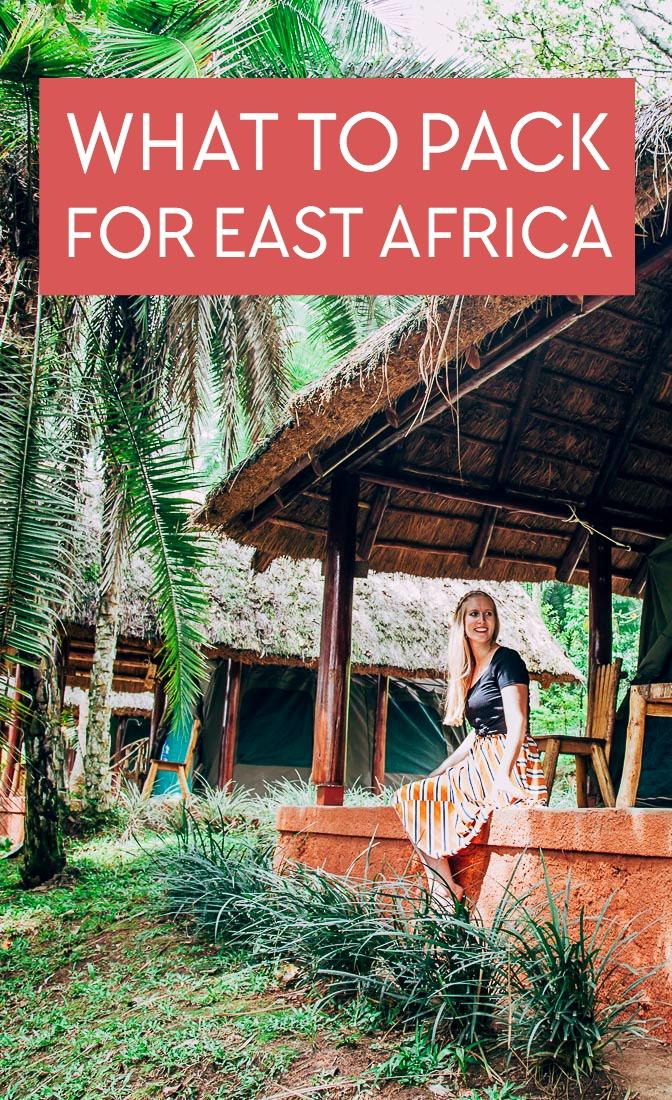 Wondering what to wear on safari or gorilla trekking, or what to pack for your Africa trip? Here's my East Africa packing list, including exactly what I packed for two weeks in Uganda, Rwanda, and the DRC