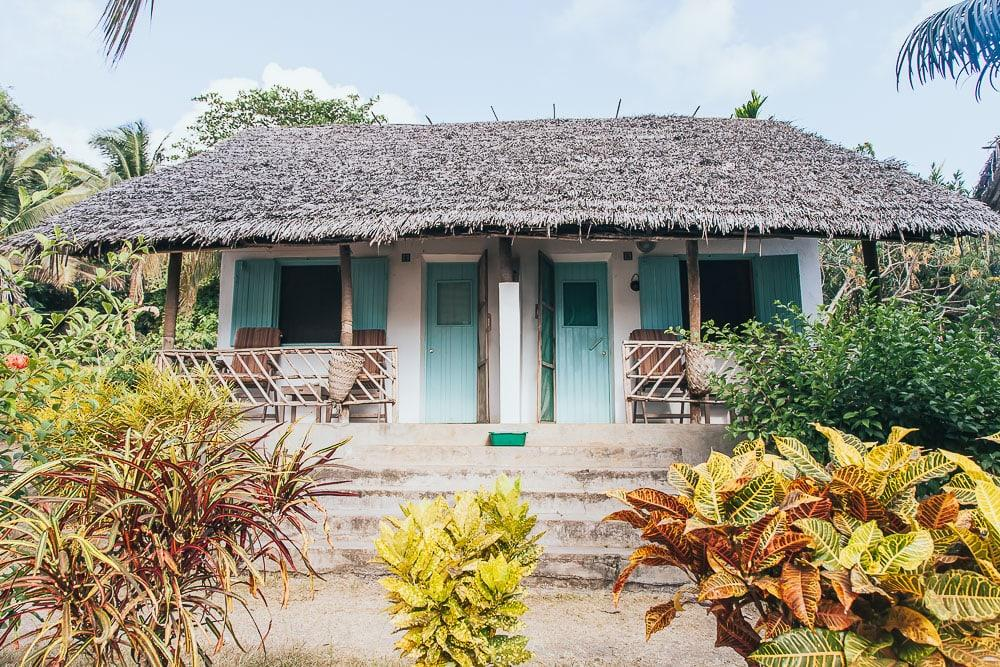 Laka Lodge bungalow moheli comoros