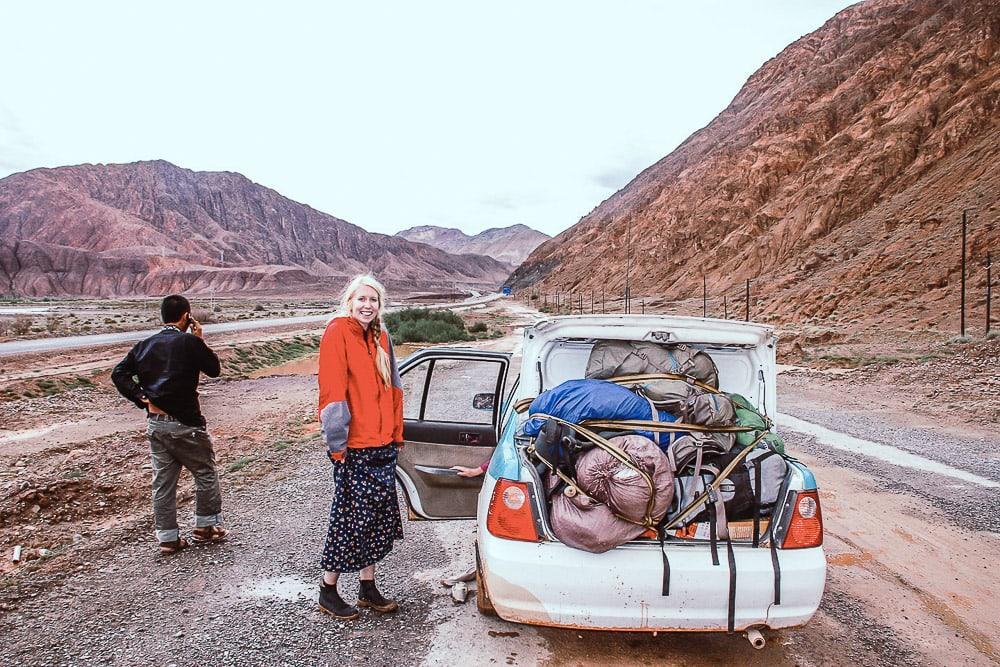 kyrgyzstan luggage