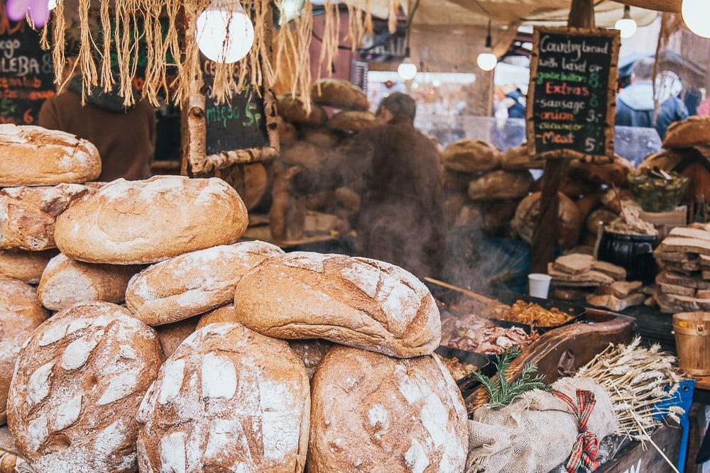 old town krakow christmas market