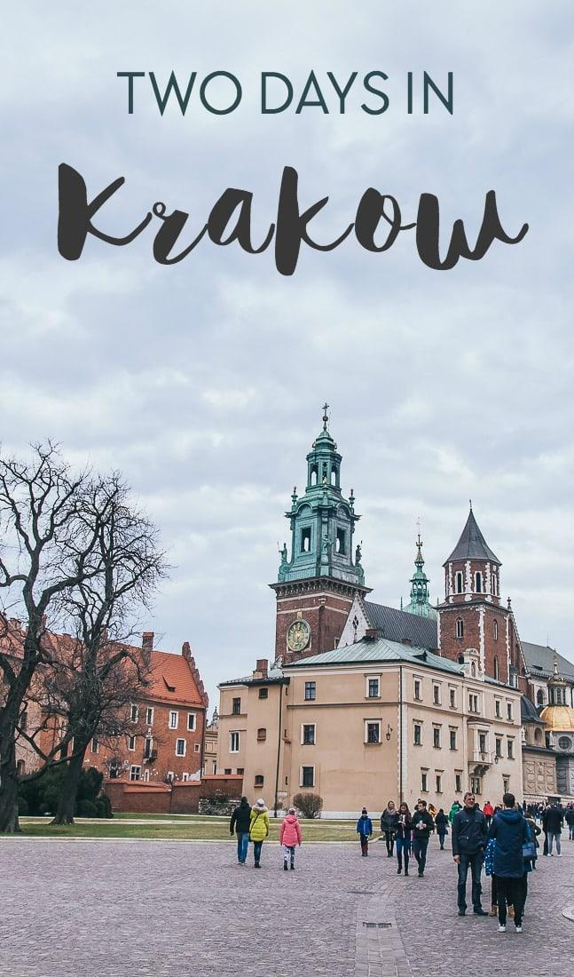 Here's everything I did during my two days in Krakow Poland, including what to see, where to eat, and where to stay in Krakow