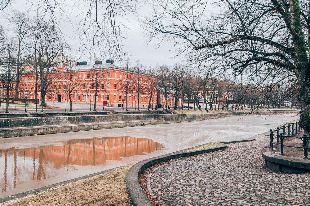 Turku finland in winter