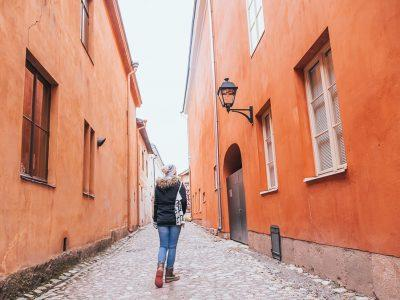 Turku walking tour winter Finland