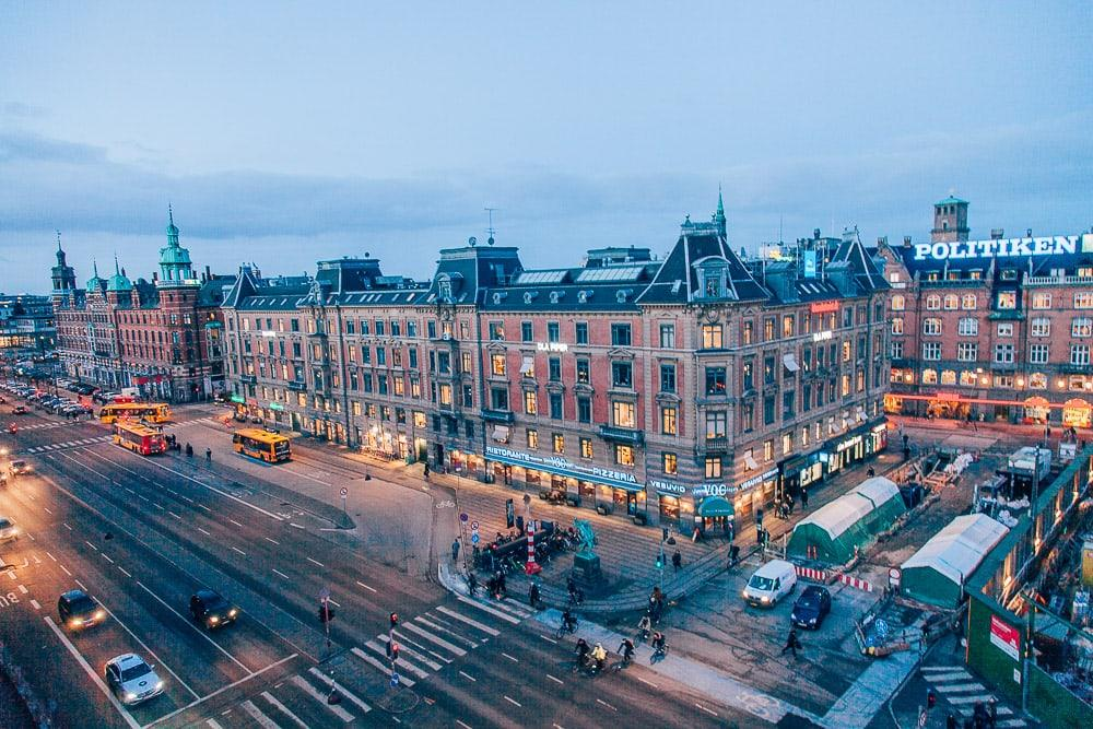 copenhagen the square hotel view city hall