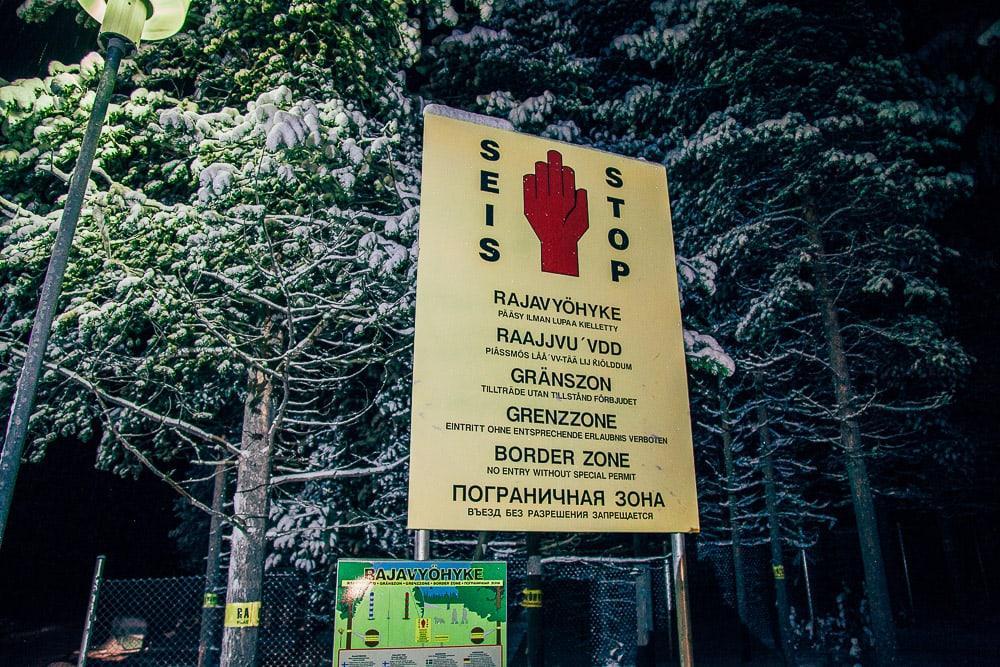 finnish russian border