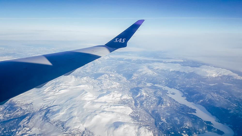 sas flight aberdeen norway
