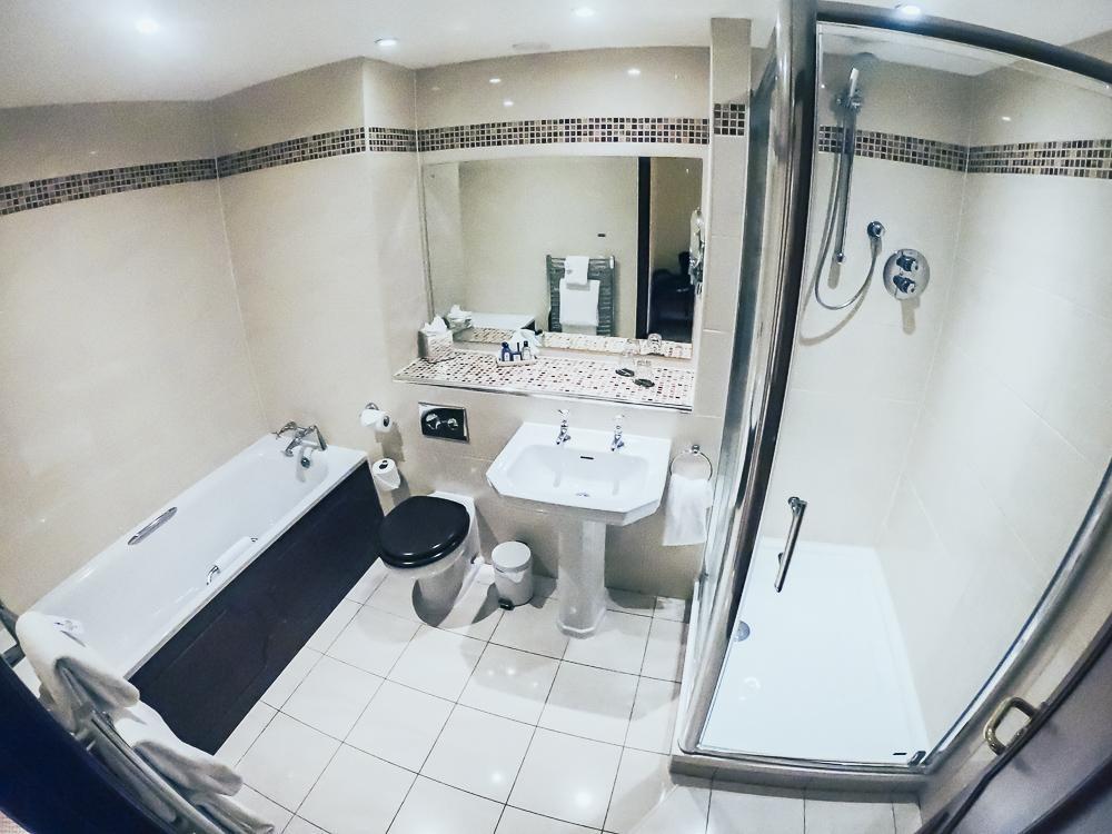 bathroom norwood hall hotel