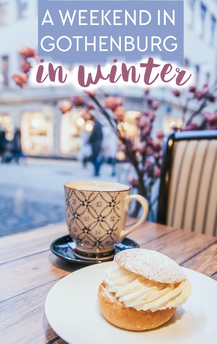 Spending a weekend in Gothenburg in winter - including things to do, places to see, where to stay, and what to eat in Gothenburg, Sweden in winter