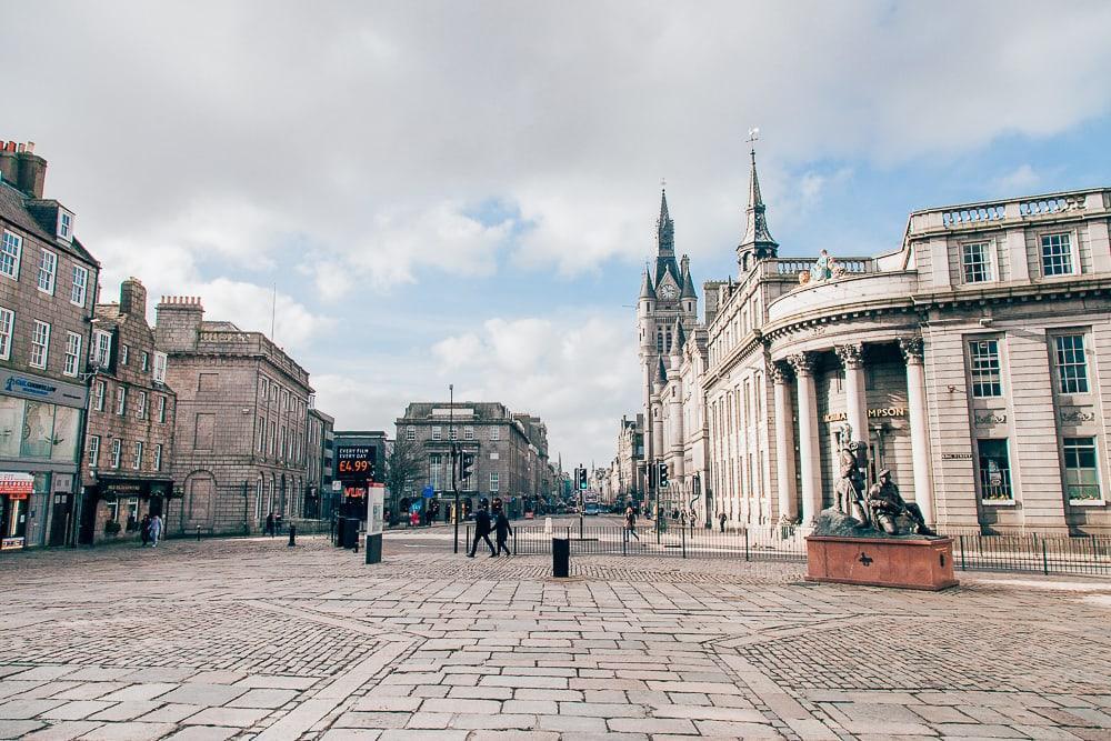 aberdeen granite city scotland