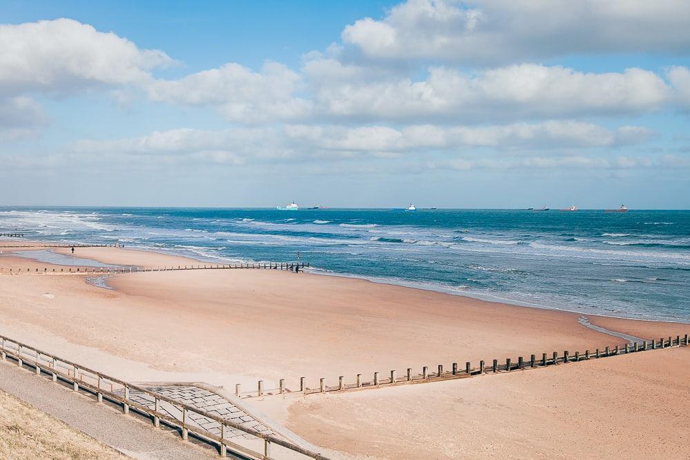 aberdeen beach winter