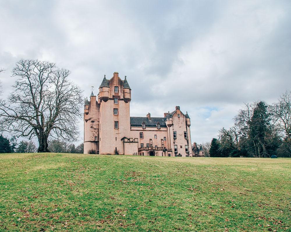 fyvie castle aberdeenshire scotland