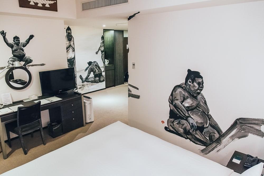 park hotel tokyo artist room sumo