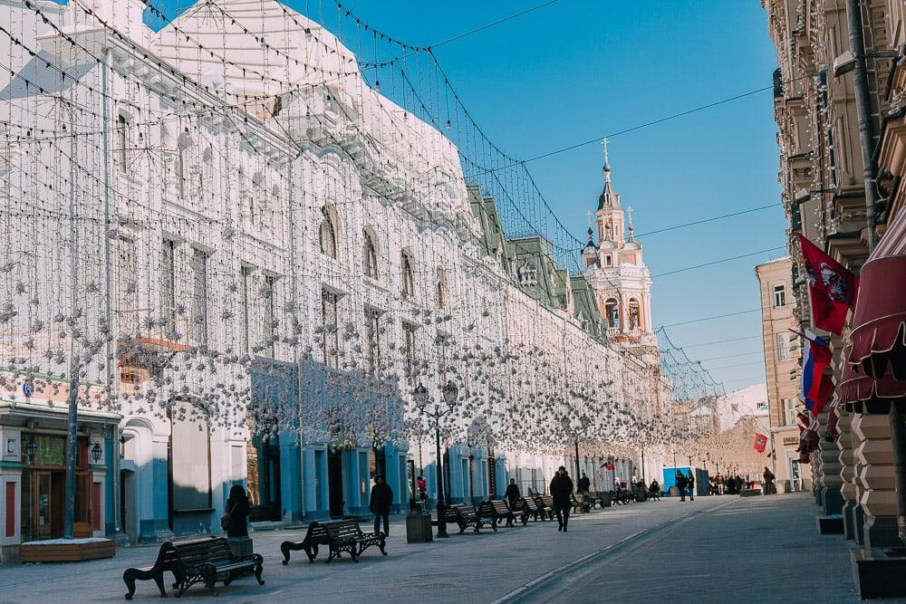 gum department store moscow red square