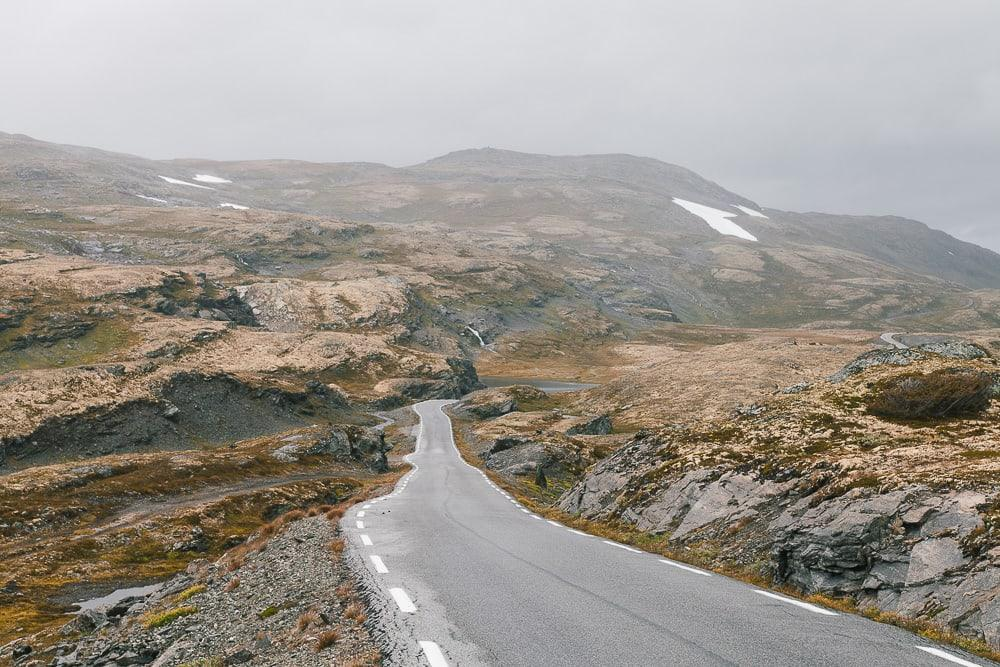 sognefjellet tourist route norway