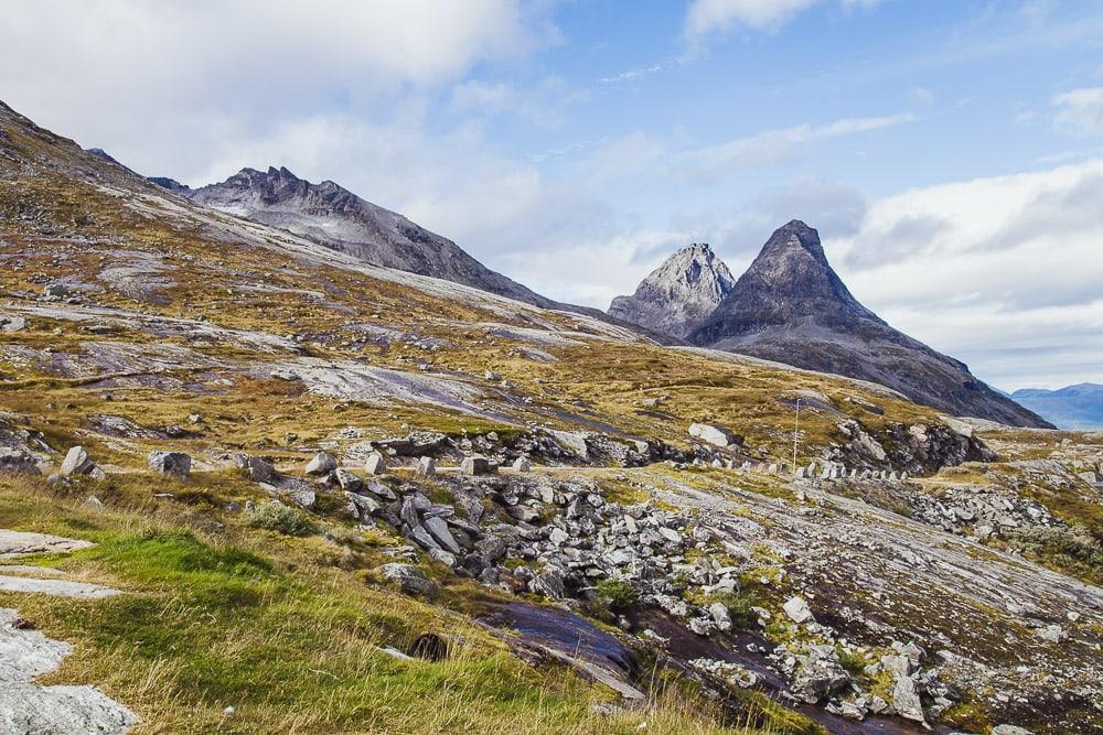 top of trollstigen mountain view norway