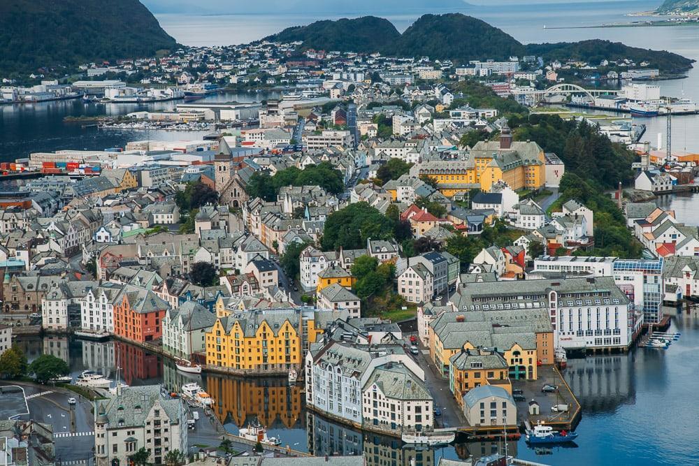 view of ALESUND NORWAY