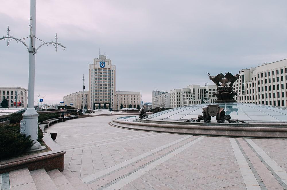 minsk independence square