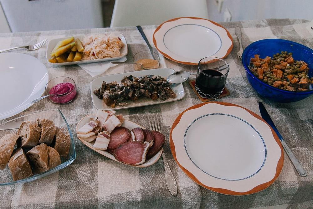 home cooked belarussian food minsk