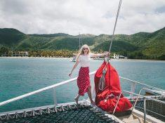 sailing week antigua chase the race