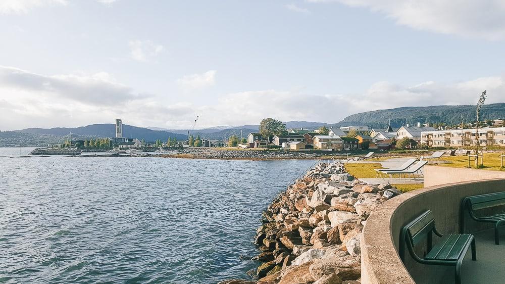 mo i rana fjord town center