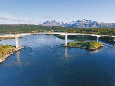 saltstraumen bridge bodo norway whirlpool
