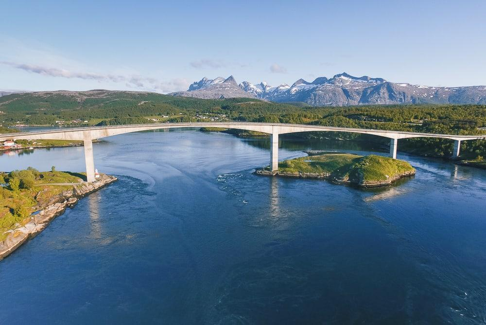 saltstraumen bridge bodo norway whirlpool
