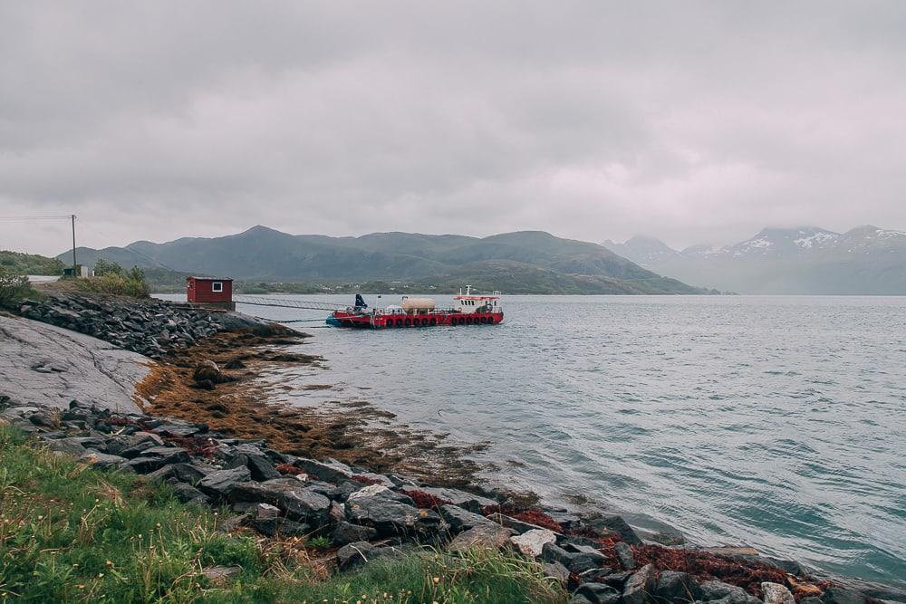 jektvik ferry helgeland coast norway