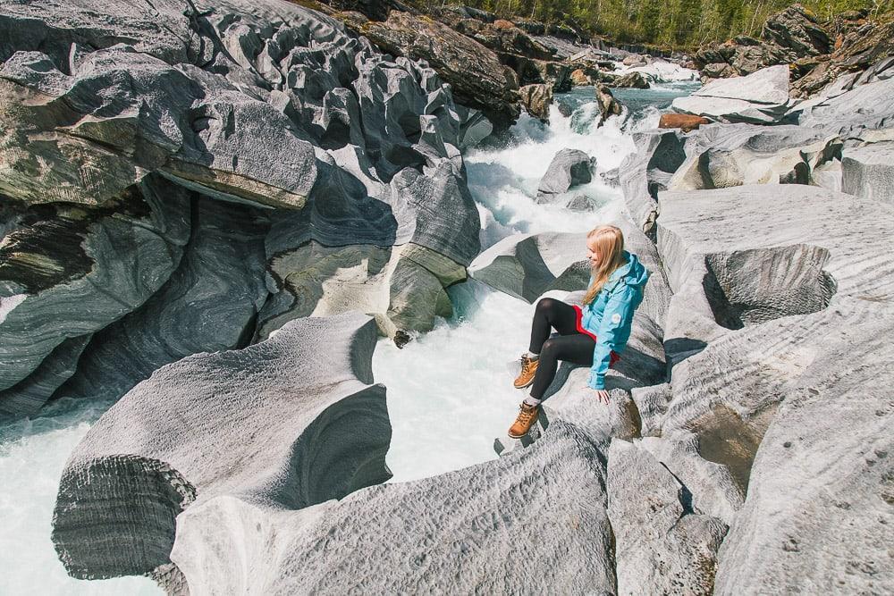 marmorslottet hike mo i rana helgeland northern norway