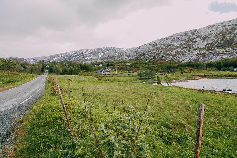 melfjorden drive helgeland norway in june