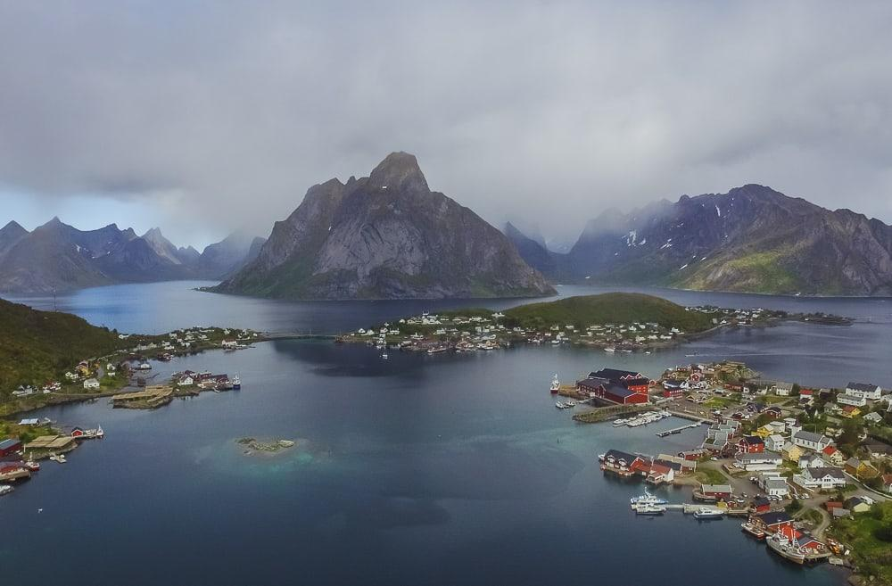 reinebringen lofoten norway june