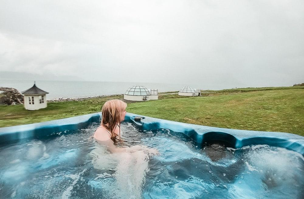 lyngen north hot tub jacuzzi